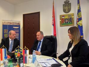 Gradonačelnik Leskovca, državna sekretarka Ministarstva poljoprivrede i zaštite životne sredine i ambasador Kraljevine Holandije