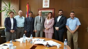 Članovi upravnog odbora petogodišnjeg razvojnog programa podrške razvoju infrastrukture u oblasti zaštite životne sredine EISP